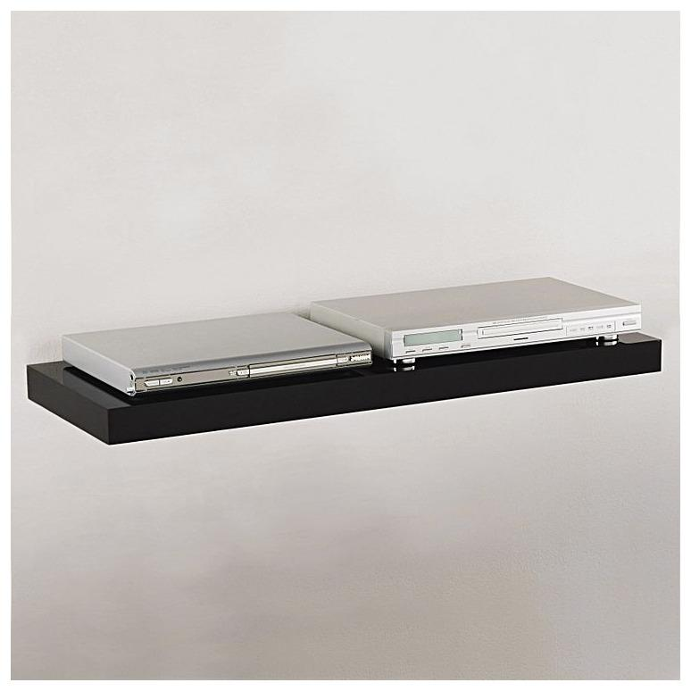 Rak Dinding Floating DVD etc Uk : Panjang 60 cm Lebar 25 cm Tebal 3.8