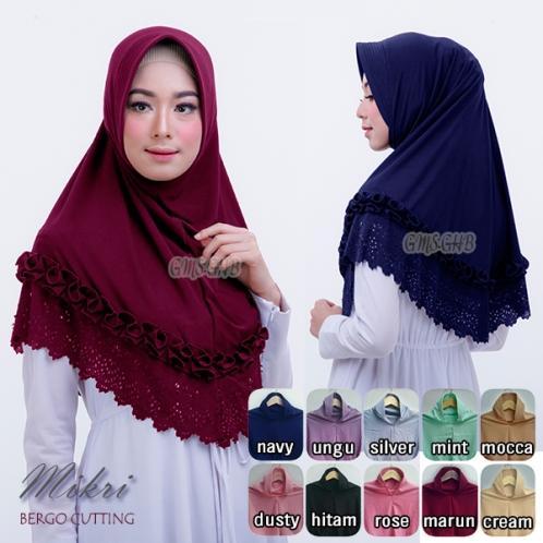 Hijab Bergo Mikri Cutting Umadera