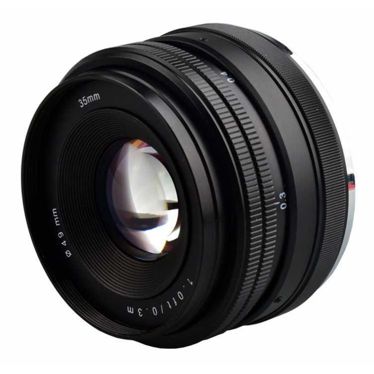 lensa kamera keren / murah dan terlaris masa kini Lensa Kamera MF Manual Fixed Focus 35mm f1.7 Sony NEX-3 A5000 A6000