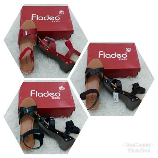 Fladeo - Sandal Branded Murah Variasi Red sz 39