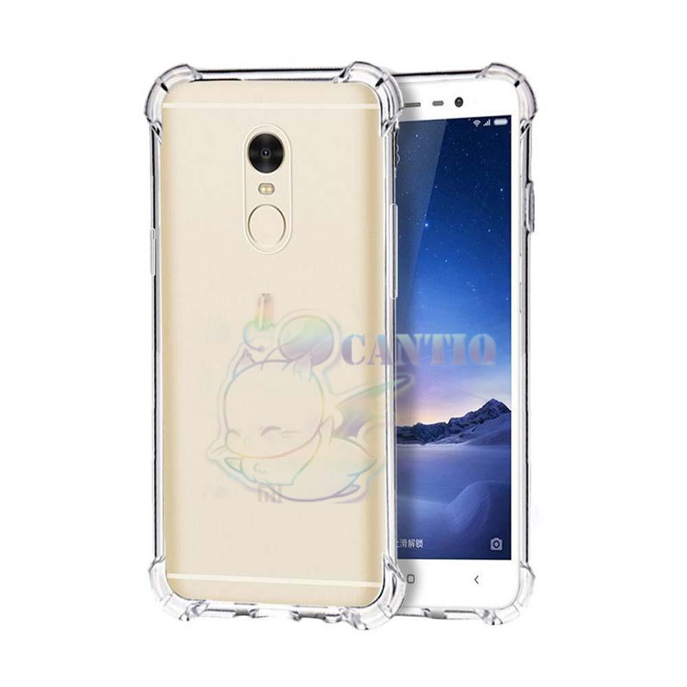QCF Soft Case Anti Shock Anti Crack Xiaomi Redmi 5 Plus Ukuran 5.99 inch / Silikon Casing Xiaomi Redmi 5 Plus / jelly Anti Crack Case Xiaomi Redmi 5 Plus / Case Anti Shock Xiaomi Redmi 5 Plus - Bening