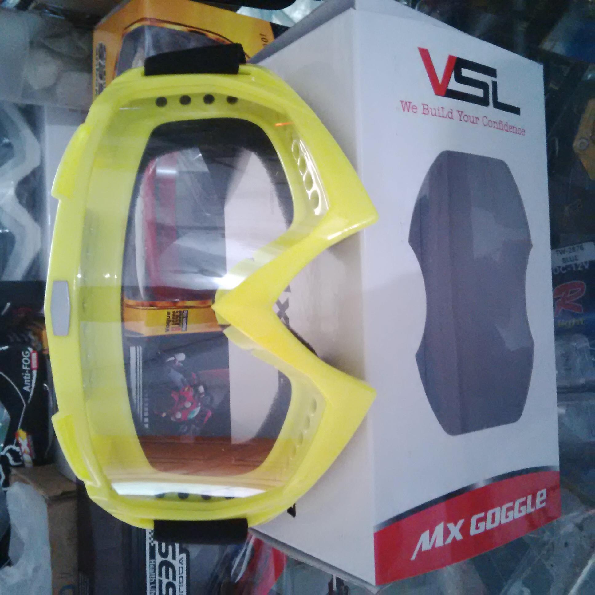 Kacamata Cross Goggle Bening Stabilo VSL