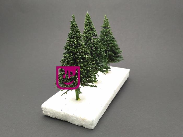 PROMO  Maket Pohon Cemara 7cm  TERLARIS