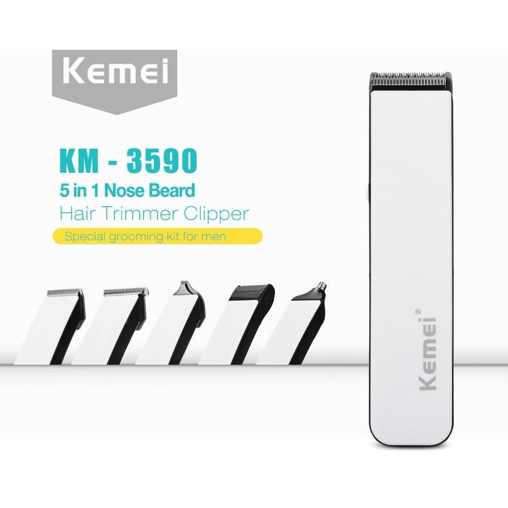 Buy Sell Cheapest Kemei Mesin Cukur Best Quality Product Deals Hair Clipper Km 809b Alat Potong Rambut Cordless 3590 Multigroom 5 In 1 Rechargeable
