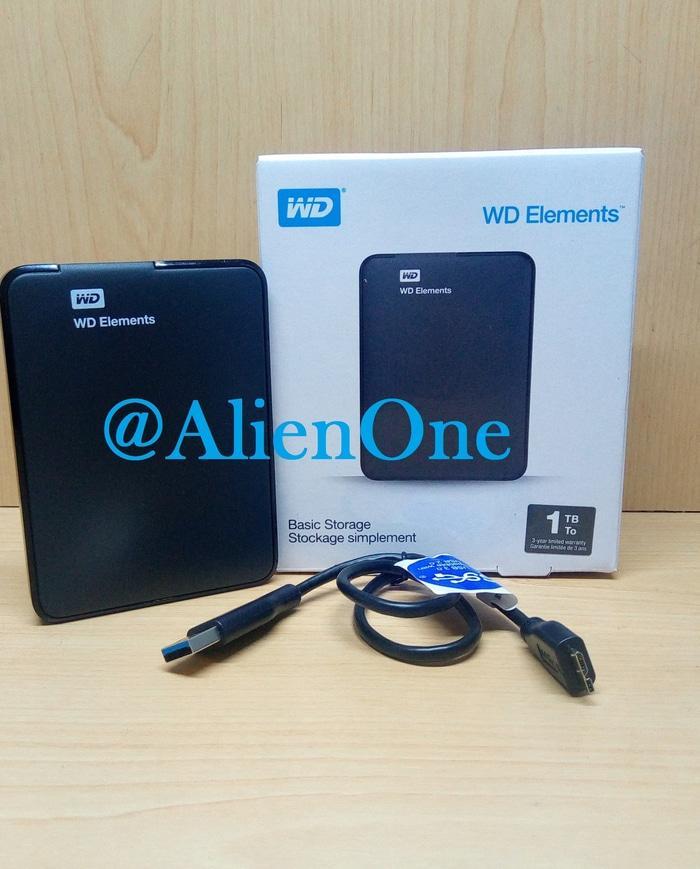 ORIGINAL WD Elements 1TB HD HDD Hardisk Harddisk External Eksternal Element