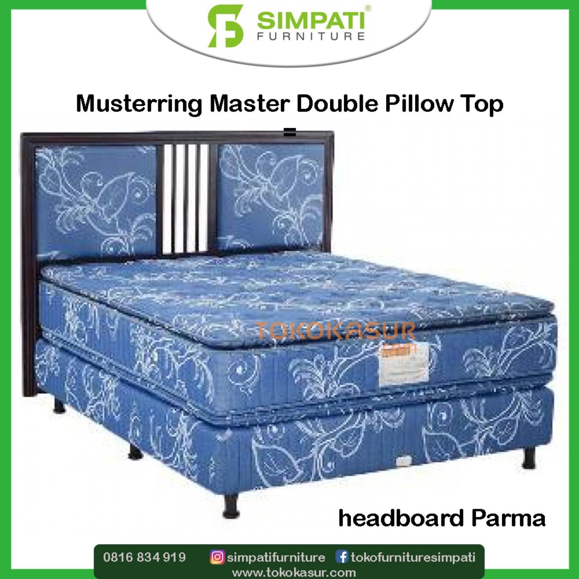 Musterring Master Double Pillowtop 160x200 Komplit Set Parma
