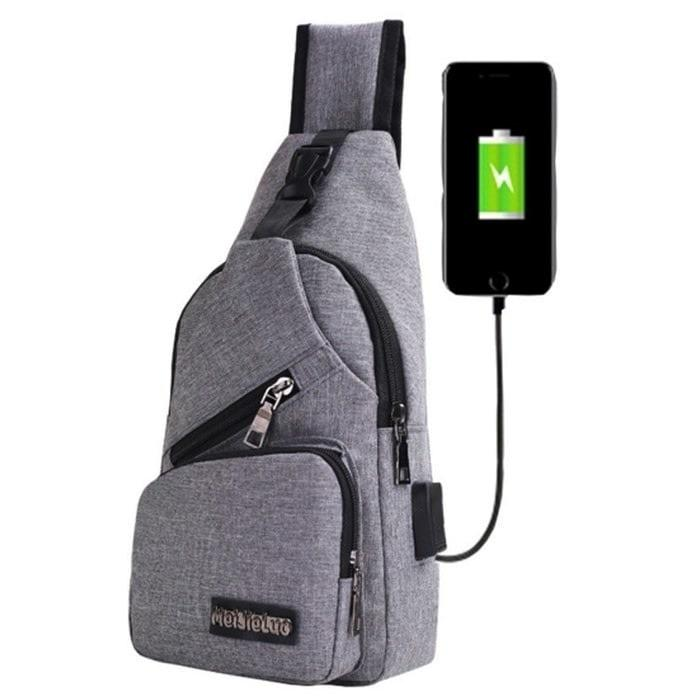 Tas Selempang USB port charger,Smart Backpack B295