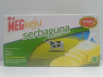 Harga baru 10 pcs MEG KEJU Keju Cheddar Serbaguna Meg Keju 170g sale - Hanya Rp90.189