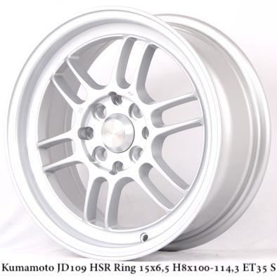 Velg Mobil Agya Ayla Brio Ignis ( DLL ) Tipe Kumamoto Ring 15