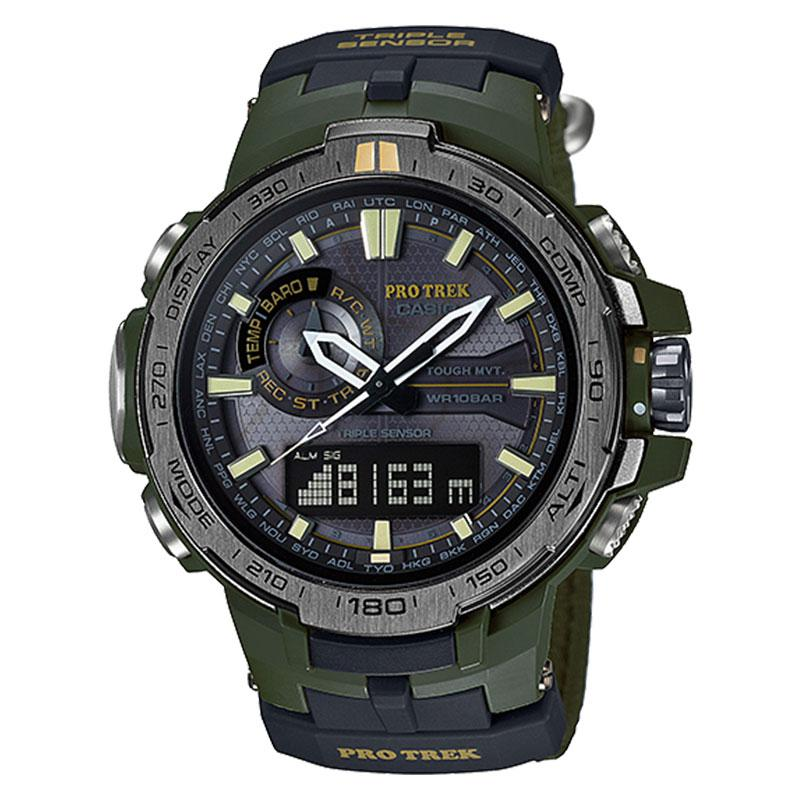 Casio PRW-6000SG-3DR Jam Tangan Pria Canvas/Nylon/Cloth