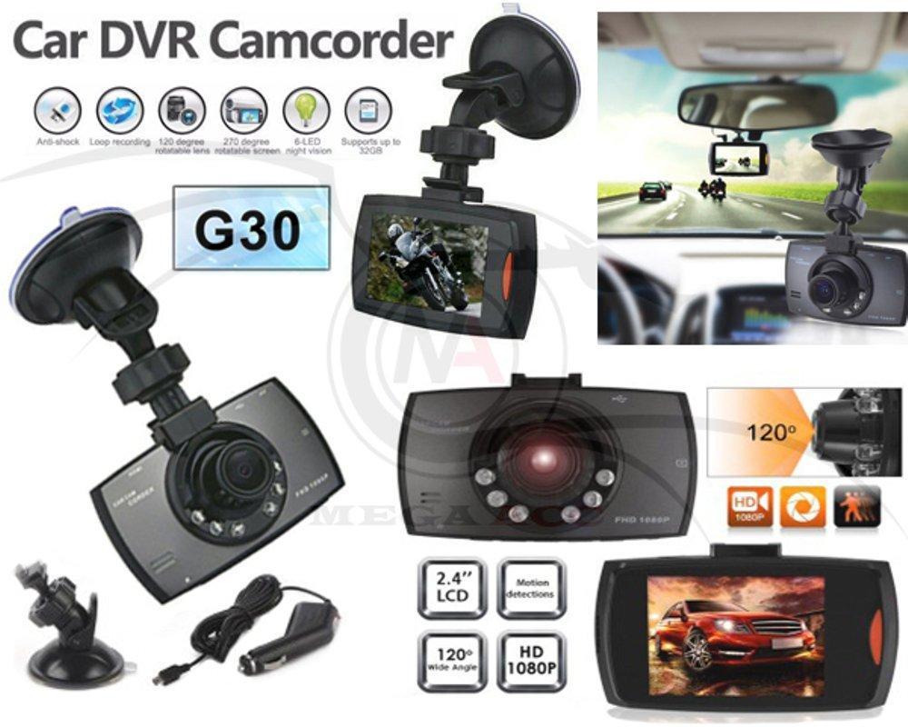 kamera mobil cctv mobil kendaraan G30 2.7 inc Car DVR Camera Recorder HD 1080P