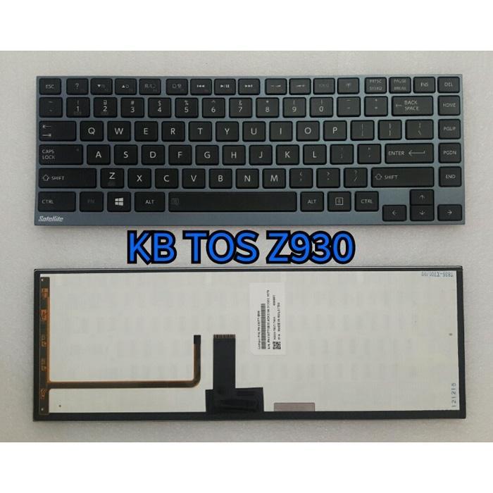 Keyboard Laptop, Keyboard Toshiba Z930, Portege Z930, Z830, Z835,