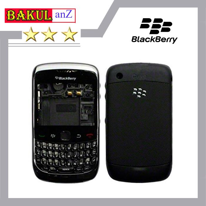 Kesing Housing Handphone Blackberry Curve 9300 - Casing Cassing Keseng HP BB Gemini 3G High Quality FULLSET