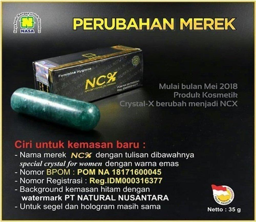 Buy Sell Cheapest Crystal X Solusi Best Quality Product Deals Ori Nasa Kristal Asli Kewanitaan Cristal