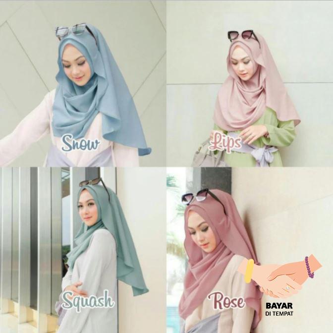 Bella Hijab Kerudung Instan - Lips