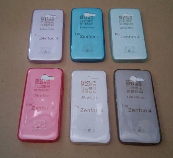 Ultrathin Asus Zenfone 4 Softcase ultra Thin silikon Case  -