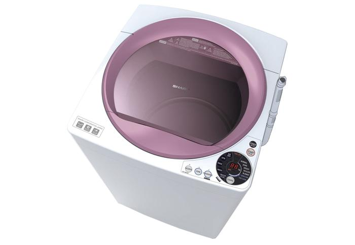 SHARP ES-M805P-WB Mesin Cuci [8 kg/Top Loading]
