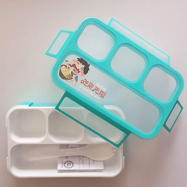 Yooyee Lunch Box Leak Proof Mini 605 - Kotak Makan 4 Sekat