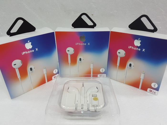 Earphone Earpods Headset Handsfree Hf Original Apple Iphone X 8 7 Plus
