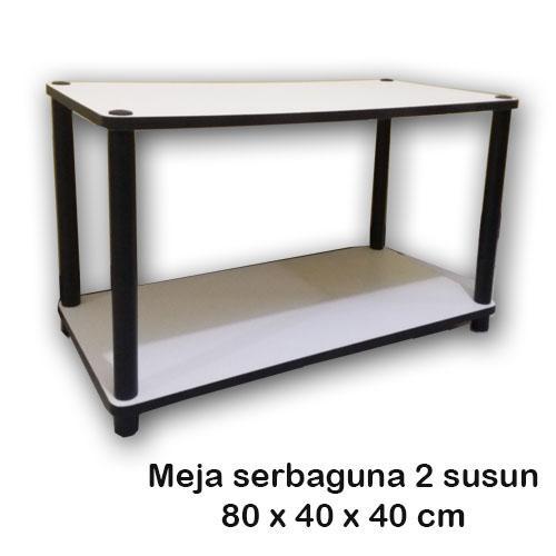 meja tv/kopi serbaguna minimalis avr66 white