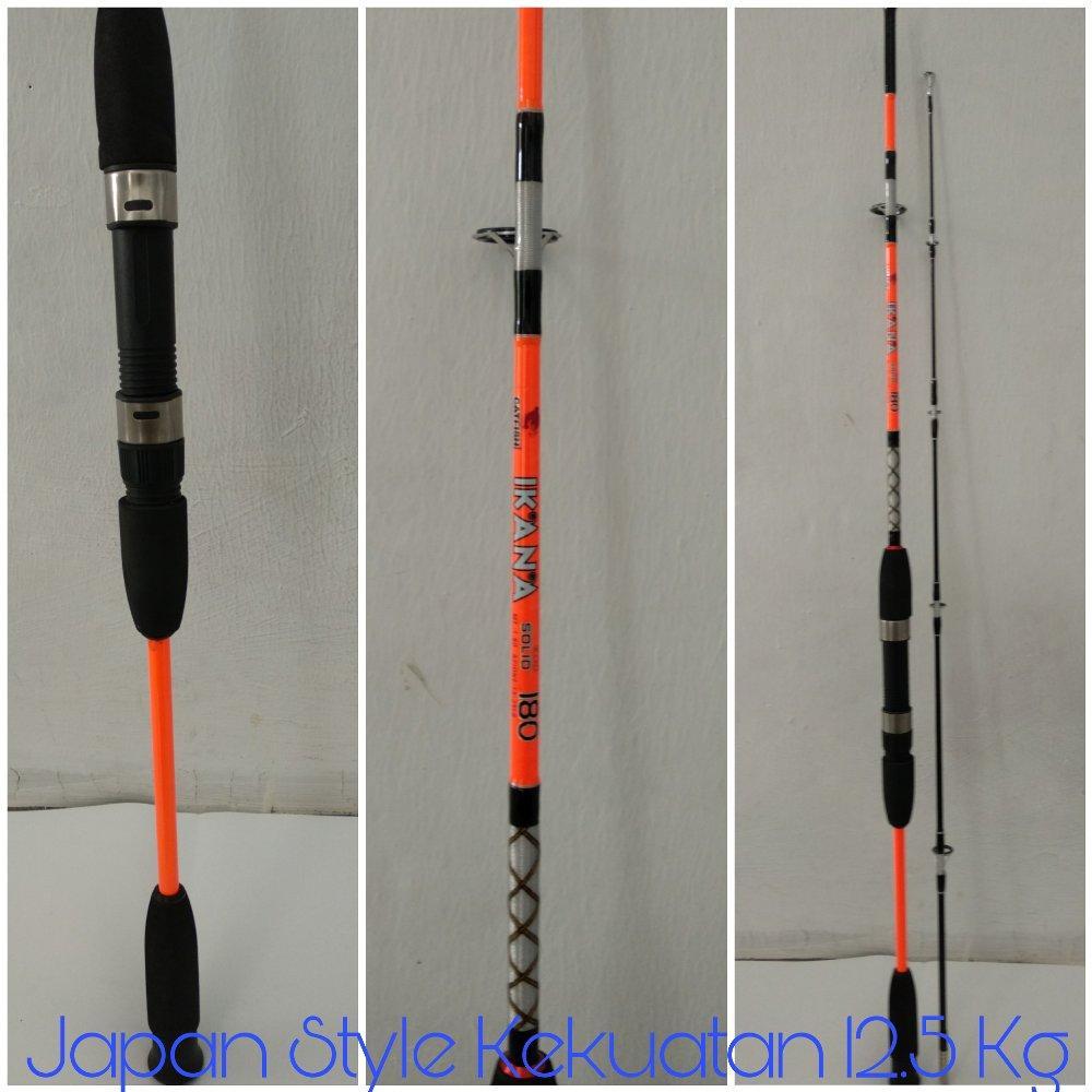 Joran Pancing Spining Japan Style Catfish Ikana 1.80 m Kekuatan 12.5 Kg # AF Fishing Store aepsae