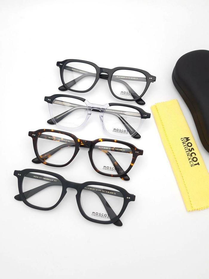 Frame kacamata baca minus plus Moscot Bilik