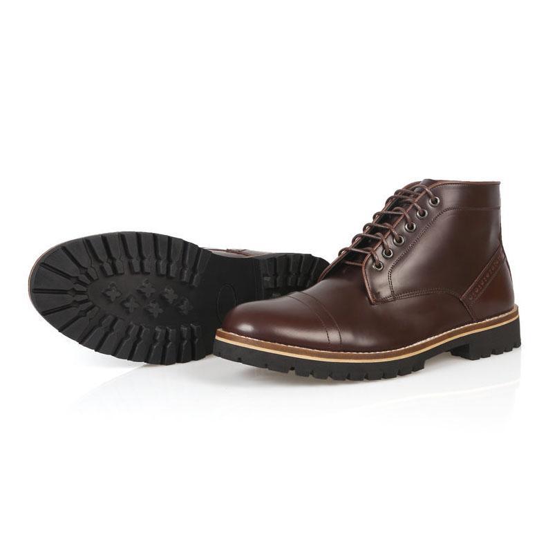 sepatu boots pria dexter oxblood