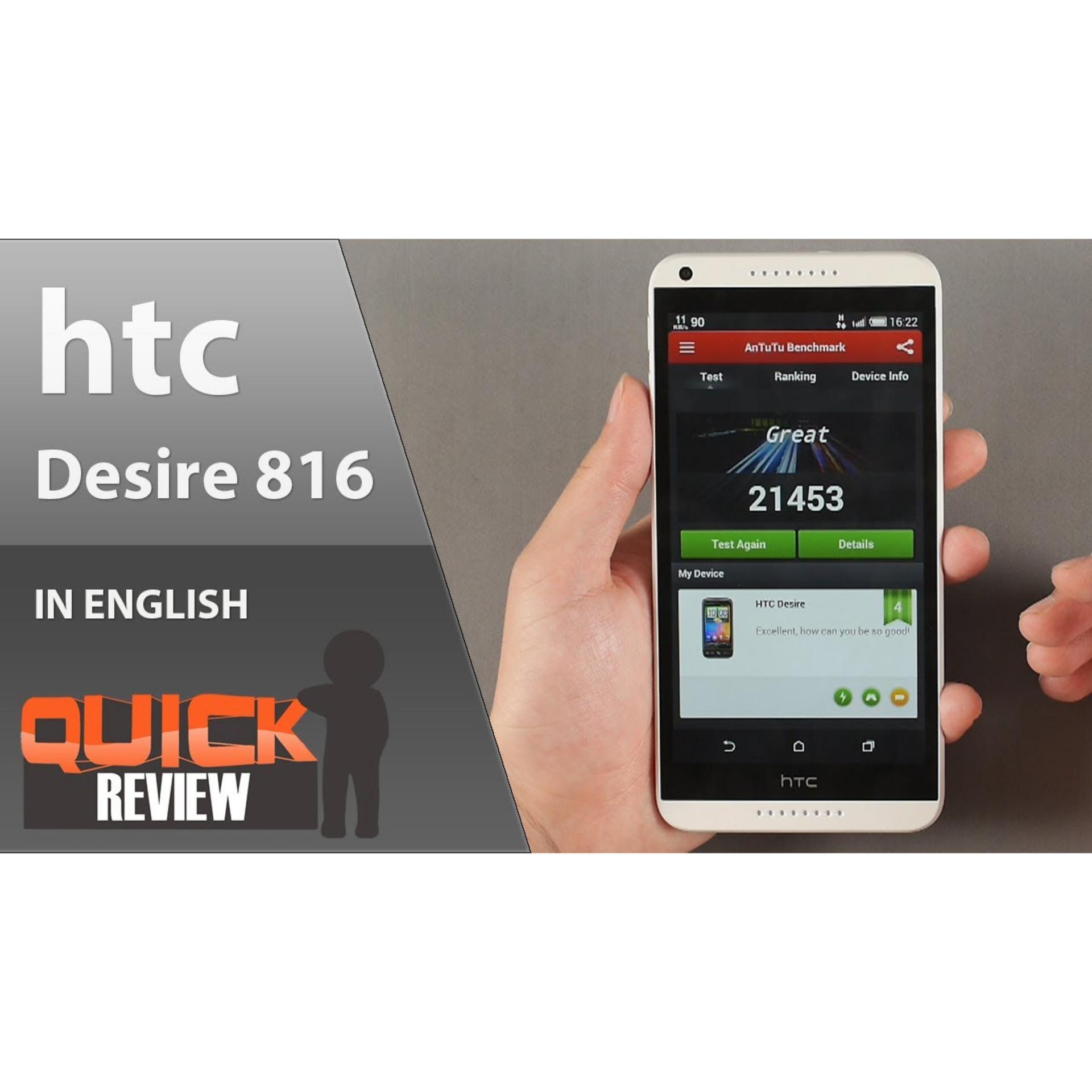 """HTC 816 - 8GB - Dual Sim - 5.5"""" - CAM 13 MP / 5"""
