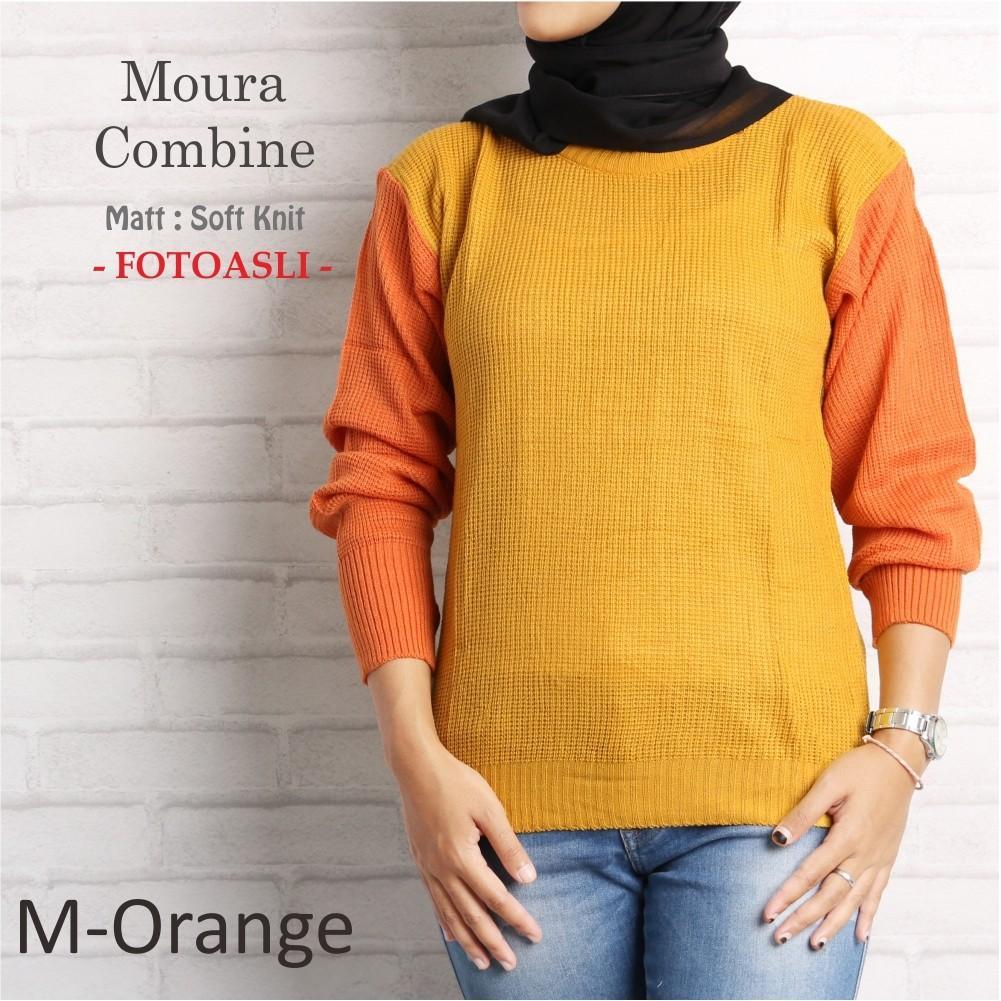 Kemeja Outdoor Lapangan Gunung Pdl Lengan Panjang Warna Orange Pendek Putih Moura Combine M Grosir Baju Termurah Abdg
