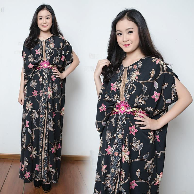 SB Collection Dress Maxi Aira Longdress Kaftan Gamis Jumbo Batik Wanita