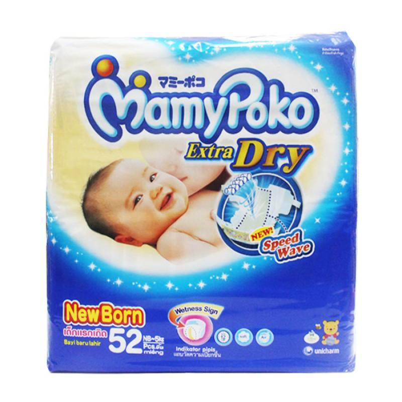 Mamy Poko Pants Extra Dry New Born-52 Super Nyaman