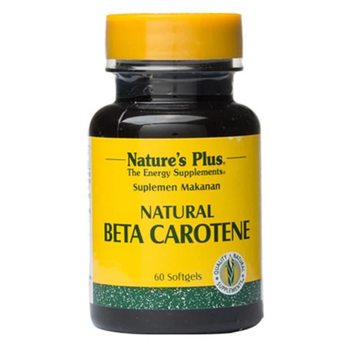 HARGA SPESIAL!!! Nature's Plus Natural Beta Carotene 25000 IU 60 softgels - tyV6hQ