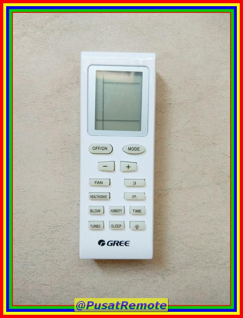 Remot Remote AC Gree Health Save