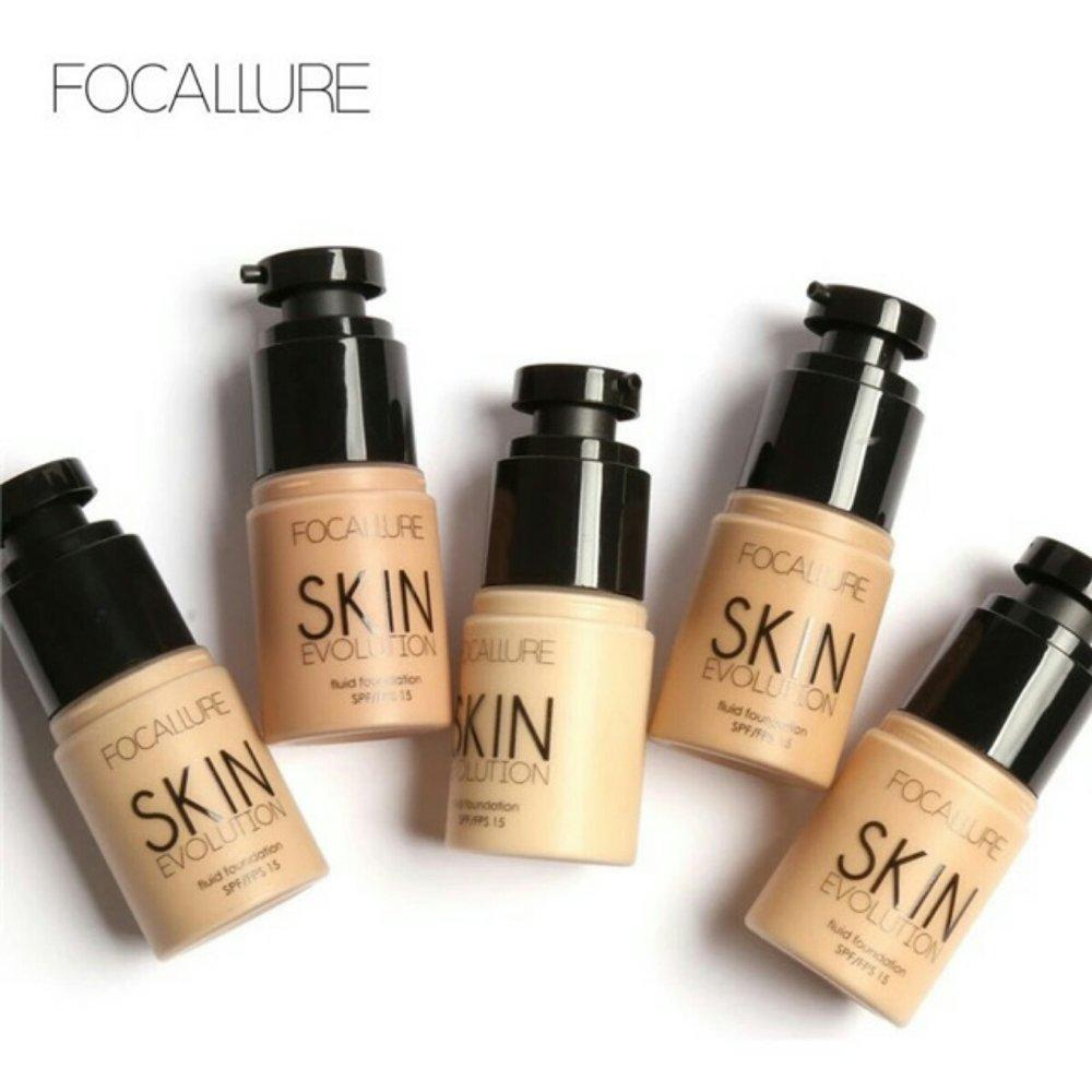 Focallure Fluid Foundation By Valerialbeauty-.