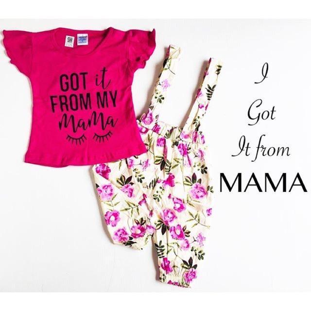 3Pc@39.5 Babeebabyshop Got It From Mama Dress Bayi Dress Anak Import Grosir Baju Bayi Murah