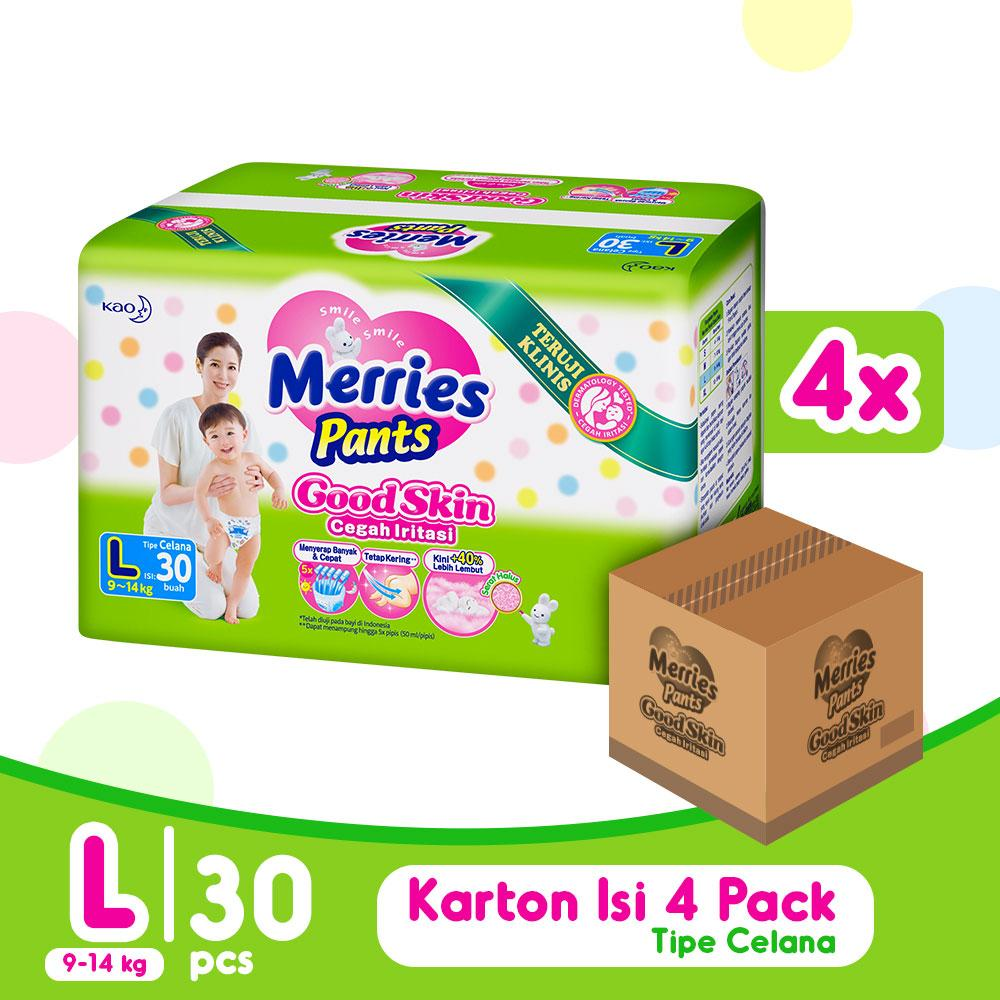 Merries Good Skin Pants L Isi 30 x 4