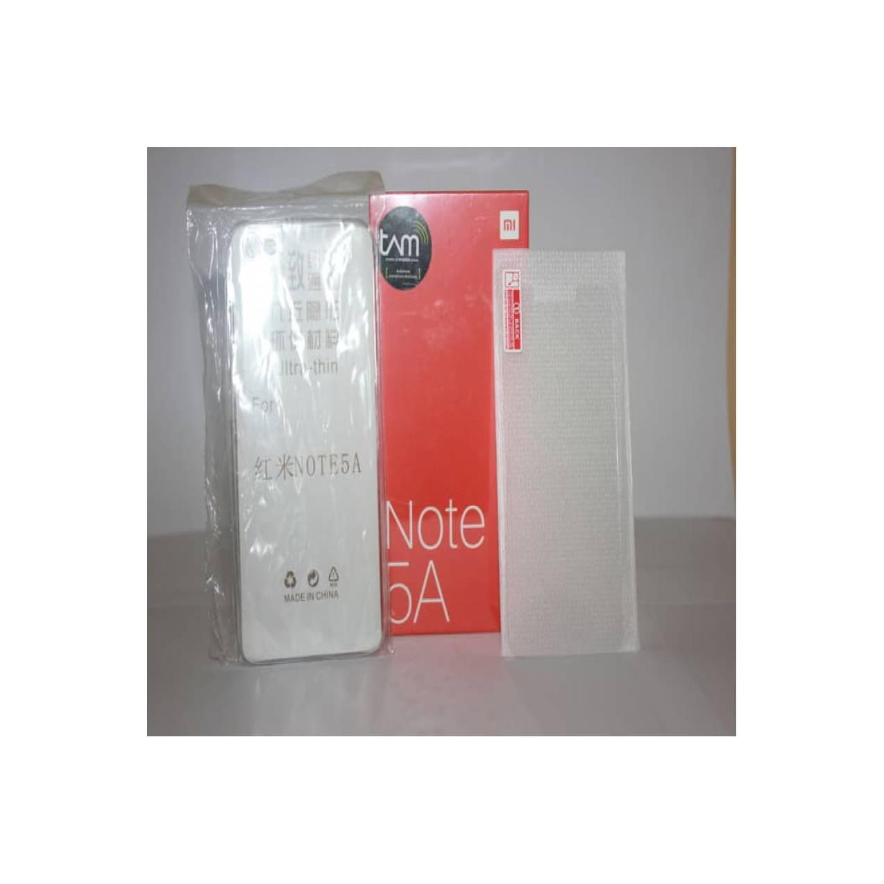 Xiaomi Redmi Note 5A 2-16 Grs RESMI 1 Tahun PT TAM Free Case Dan Tempe