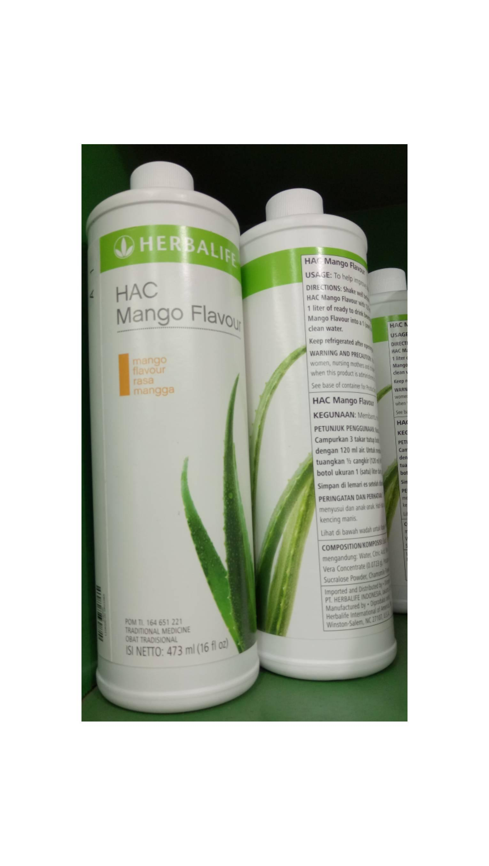 Herbal Aloe Concentrate original atau mango