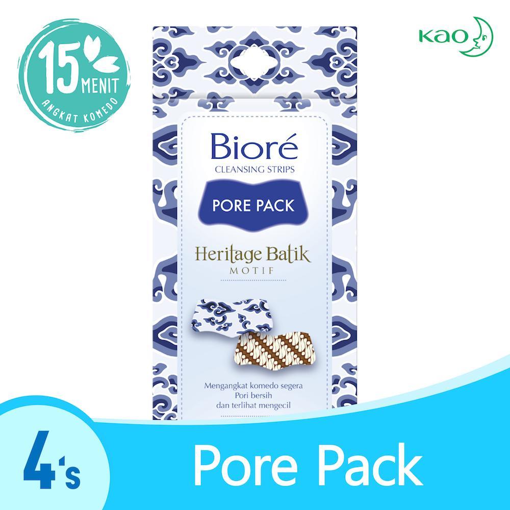 BIORE Pore Pack Batik Motif 4's