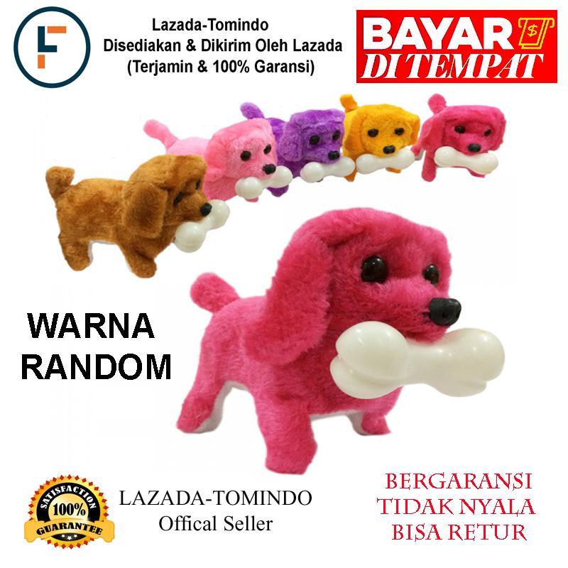 Tomindo Mainan Anak Robot Boneka Anjing (robot anjing)( Robot Stuffed Plush  Dog ) 39af5a709d