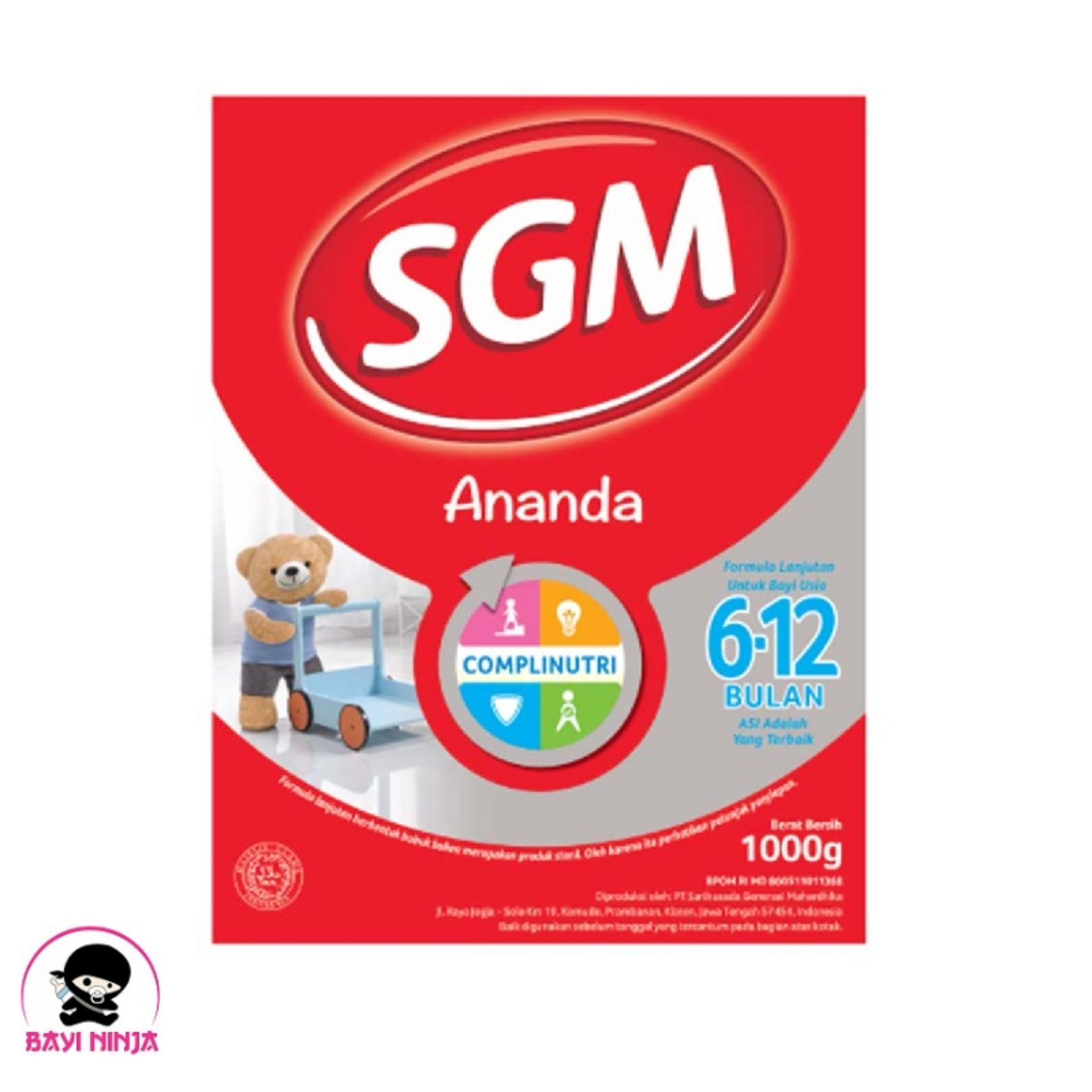 Sgm Ananda 2 Presinutri 6 - 12 Box 1000g / 1000 G By Bayininja.
