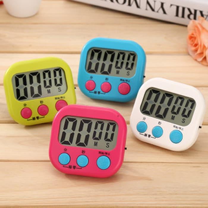 HARGA DISKON!!! Digital Kitchen Timer Alarm Dapur Masak Clock Stopwatch - WZ9RpI