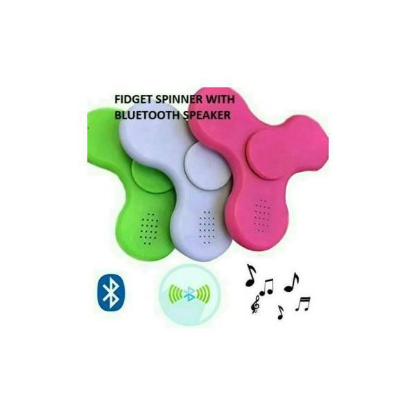 TERMURAH Fidget Spinner LED ON OFF SPEAKER Bluetoothmainan Edukasi / Hadiah Ulang Tahun