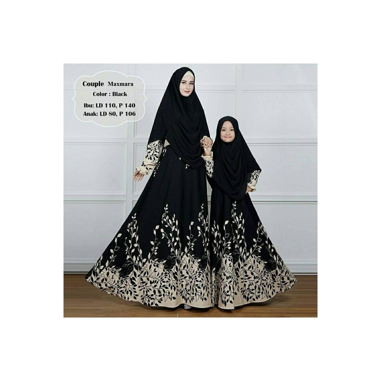 Gamis Couple Ibu dan Anak Busana Muslim Maxmara Terkini O4FJ6V