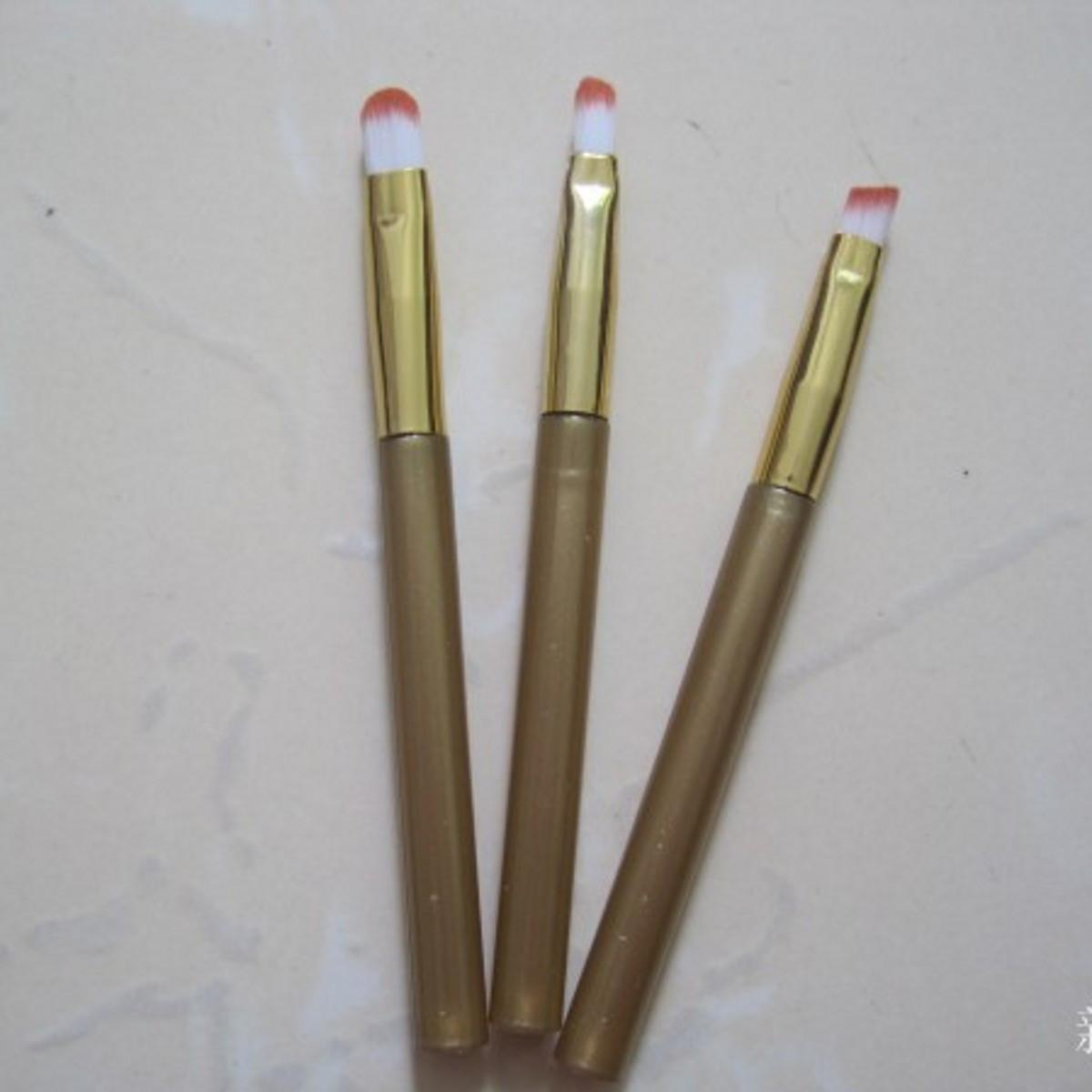Keli Makeup Brush Eyeshadow Brush Bersama-sama