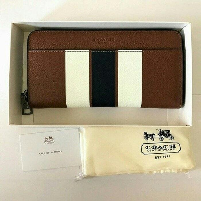 Dompet Pria Coach Men Wallet Original