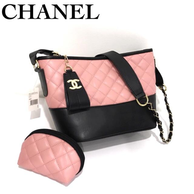 Tas Sling Bag Branded Import Branded Hand bag Chanel Gabrielle Super UK Sedang
