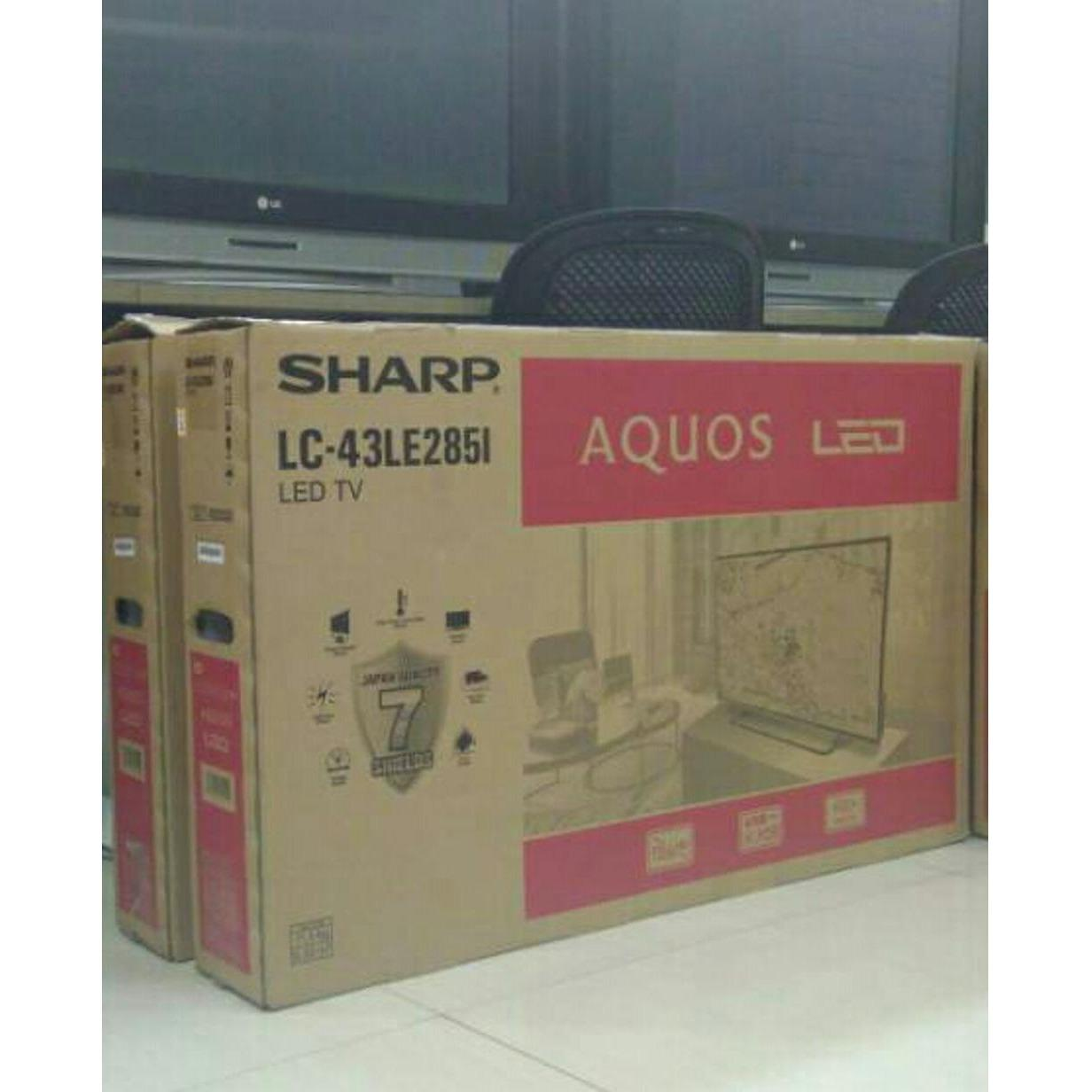 The Cheapest Price Sharp Lc32le185iwh Led Tv 32 Inch Rp750000 Aquos 19le150m