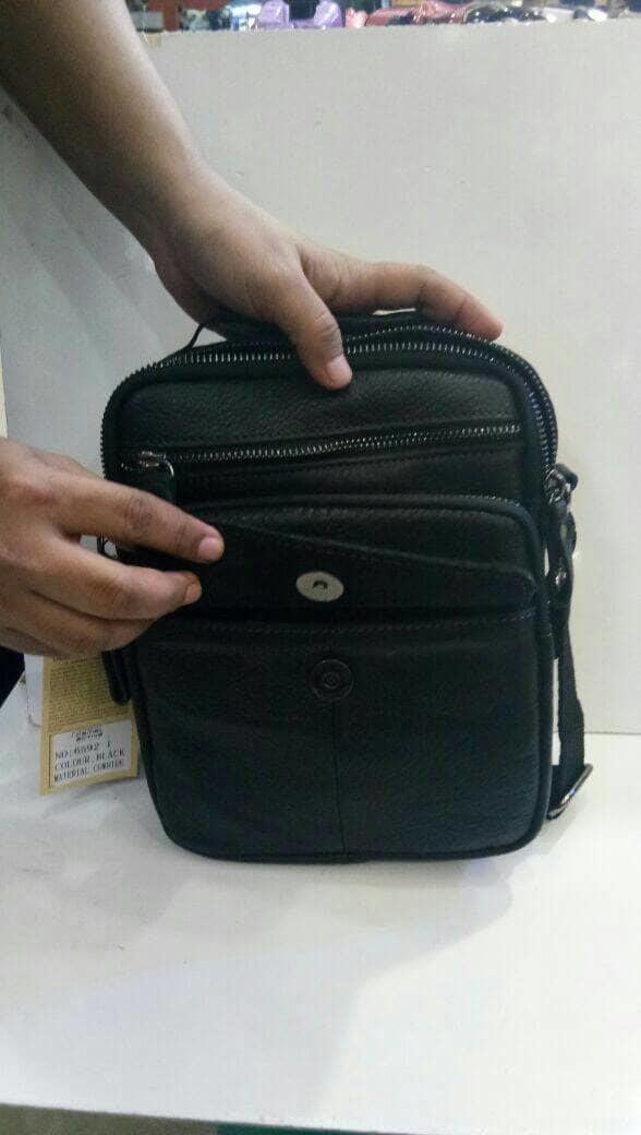 PROMO / HOT SALE  SLING BAG TAS PRIA TALI SLEMPANG KULIT ASLI CAMEL ACTIVE / TAS KULIT-A1691