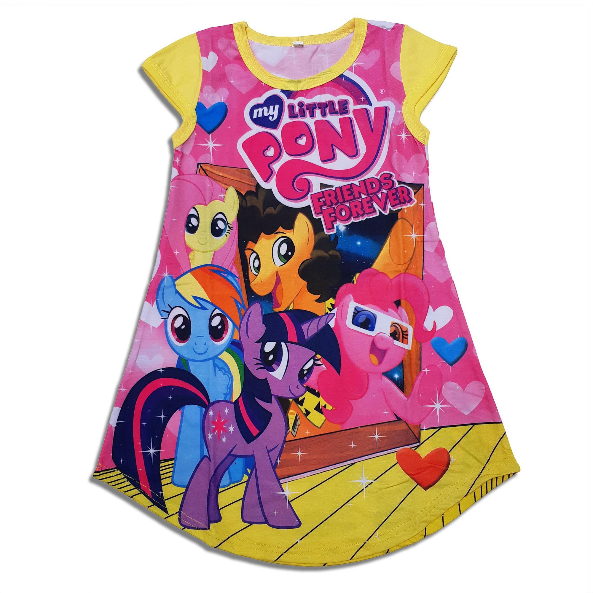 HM Baju Dress Anak Perempuan Little Pony ded6c27734